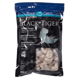 BLACK TIGER PEELED PRAWN RAW 41/50