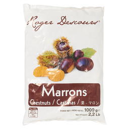 CHESTNUT PEELED MARRONS EPLUCHES