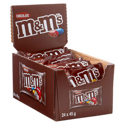 M&M'S CHOCO SINGLE 45G