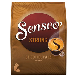 SENSEO DARK ROAST COFFEE PADS 36ST