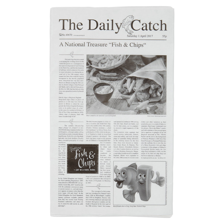 GREASE FREE PAPER 'NEWSPAPER'