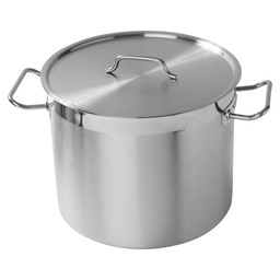SAUCE PAN WITH LID HIGH 24CM *SELECT CS*