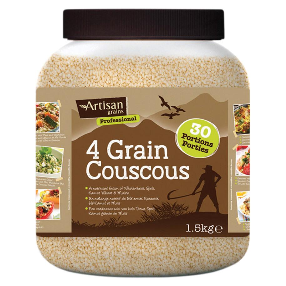 4 GRAIN COUSCOUS